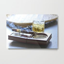 Cigar Time Metal Print