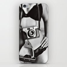 The photographer. iPhone & iPod Skin