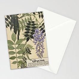 Maurice Pillard Verneuil - Étude de la plante (1903): Wisteria Stationery Cards
