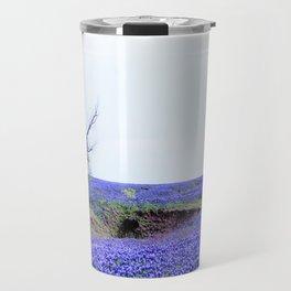 Lonely Tree & Bluebonnets Travel Mug