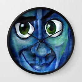 MegaMind Acrylic Painting  Wall Clock
