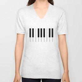 See Piano Unisex V-Neck