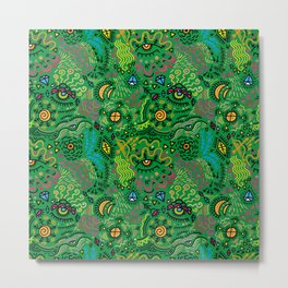 Surreal pattern (color) Metal Print