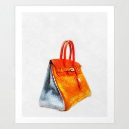 Arlequin 6 colours Art Print