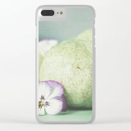 Pair of Pears Clear iPhone Case