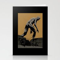 iron giant Stationery Cards featuring Giant by Matthew Dunn