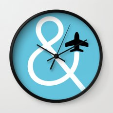 And Fly Wall Clock