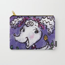 Perky Poodle Carry-All Pouch