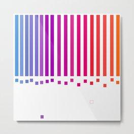 notas de color Metal Print