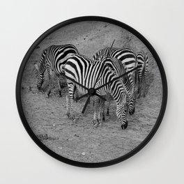 Cebras Wall Clock