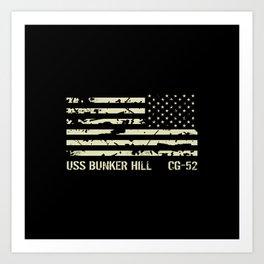 USS Bunker Hill Art Print