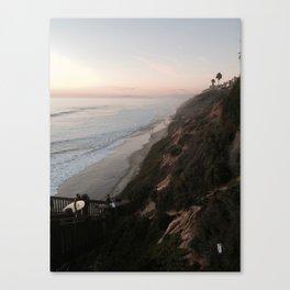 California Surfers Canvas Print