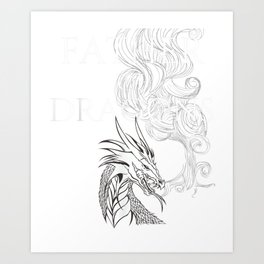 Mens Father Of Dragons Fun Smoky T-Shirt | Mother of Dragons Art Print