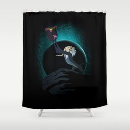 The facehugg of life Shower Curtain