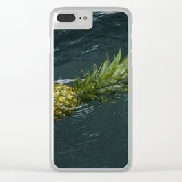 Welcome to Pineapple in Nude Clear iPhone Case