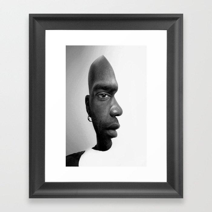 African American Gerahmter Kunstdruck