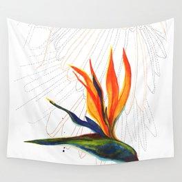 Bird of Paradise Wall Tapestry