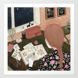 """""""Herbarium"""" by Yelena Bryksenkova Art Print"""