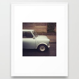 Mini Cooper Framed Art Print