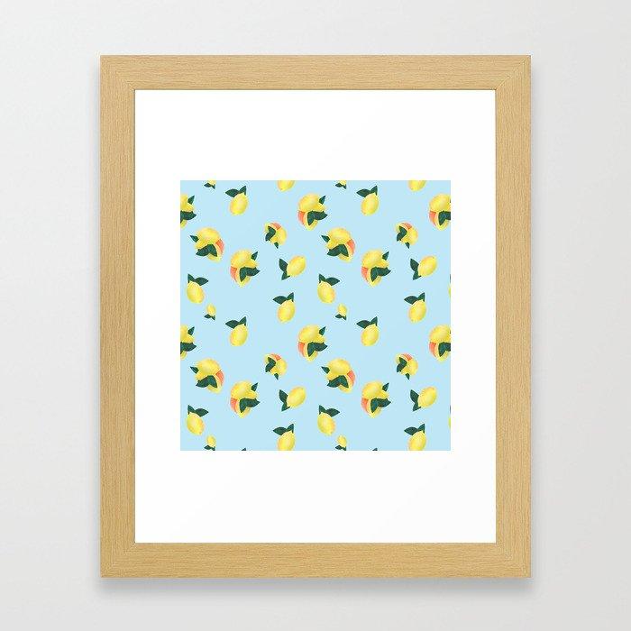 Lemons and Oranges Framed Art Print