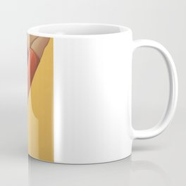 High heels are invented by a women who had been kissed on the forehead Coffee Mug