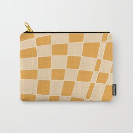 Abstract clementine mosaic tile Carry-All Pouch