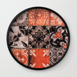 Pattern Wall Clock