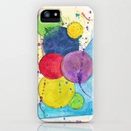 Scatter II iPhone Case