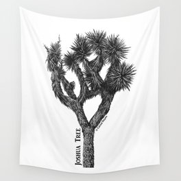 Joshua Tree Burns Canyon by CREYES Wall Tapestry