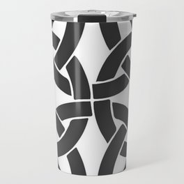 Celtic Shamrock Tribal Knot Travel Mug