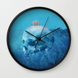Save the Arctic Wall Clock