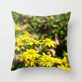 Squaw Weed 3 Throw Pillow