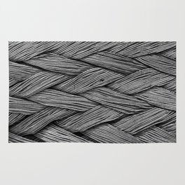 Steel Braided Strap Rug