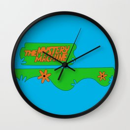 Mystery Machine Wall Clock