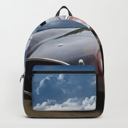 Black Car on the Beach Backpack