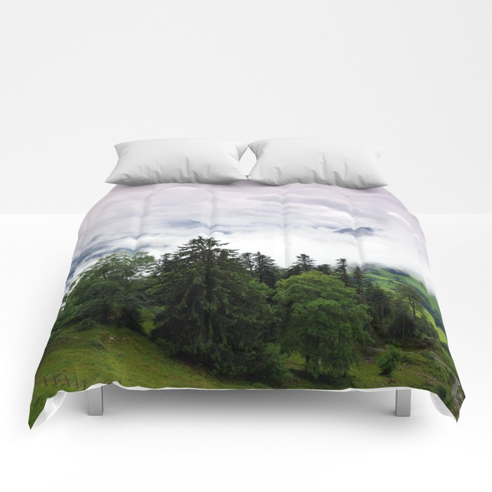 mountain view i. Comforters