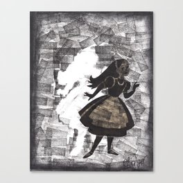Escaping Wonderland Canvas Print