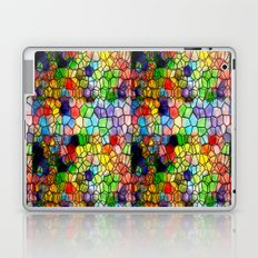Stained Glass Abstract Digital Art Laptop & iPad Skin