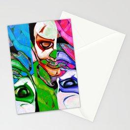 Evil Trippy Clown Stationery Cards