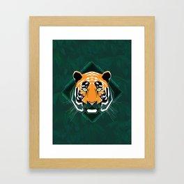 Tiger's day Framed Art Print