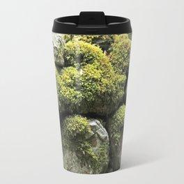 Mossy wall Travel Mug