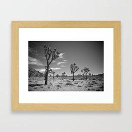 Desert Landscape 2 Framed Art Print