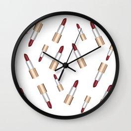 Lip Love Wall Clock