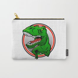 Angry Tyranosaurus rex  Carry-All Pouch