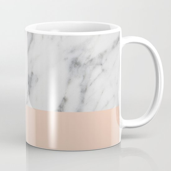 Marble and Blush Pink by hellograce