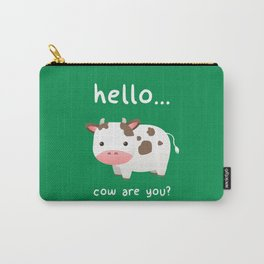 Good Mooorning! Carry-All Pouch