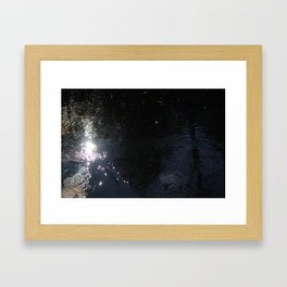 The Wave You Move Framed Art Print