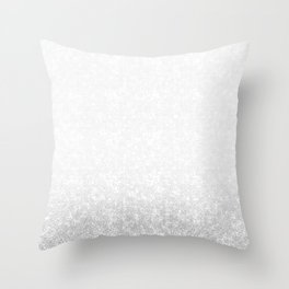 Gradient ornament Throw Pillow