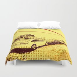 Donui-dong Duvet Cover