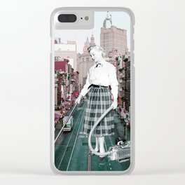 If you drive a car, i'll tax the street! Clear iPhone Case